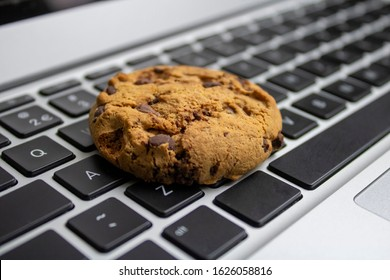 This photo is a symbol for the internet cookies in the internet browser.