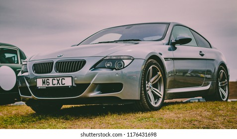 This photo was taken in Donnington, Leicestershire / United Kingdom - May 1st, 2016: Luxury, executive BMW M6 sports car