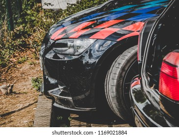 This photo was taken in Nurburgring / Germany - August, 3rd 2014: BMW M3 sports car