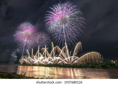 This is the photography of Odiya festival's grand fireworks festival.  How about using this image to the background of a calendar, a poster and travel pamphlet.