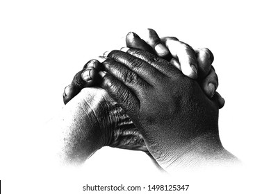 This picture of the black and white hand signify the concept of reconciliation and closeness. Reconciliation is the most important Biblical concept.