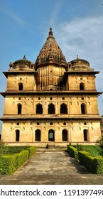 This picture is come from orchcha which is present in jhansi India . Historical building which name is chatri .