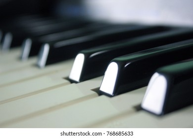 This picture is Piano keyboard.