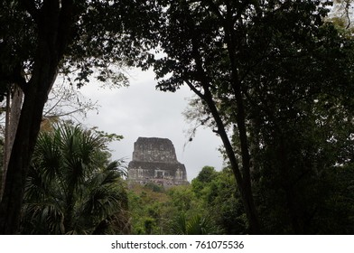 This picture was taken at Tikal Guatemala