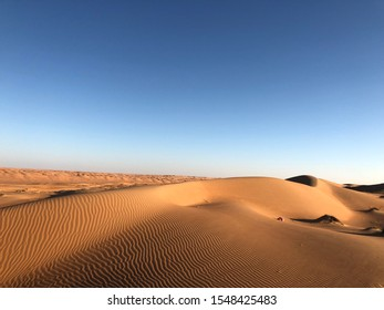 This pictures of the sand and sky have been taken in the desert in Oman (A'Sharqiyah Sands) on the13.01.2018 at 16:49 o'clock