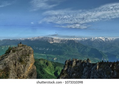 """This place called """"Khvamli Mountain"""" it's located in Georgia, mistic place"""