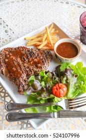 this is pork steak