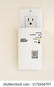 This power outlet mounted carbon monoxide detector includes an internal battery that provides peace of mind, in any room of the house, even during power outages, if  and when there is a CO leak