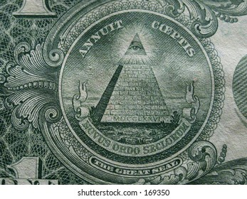 This is the pyramid from the back of a US dollar bill.