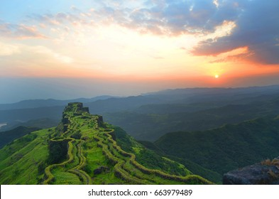 "This is a Rajgad Fort Located at Maharashtra) Place called "" Sanjivani Machi """