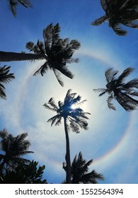 This was a rare  22° Halo that was shot on the Phi Phi Islands, Thailand