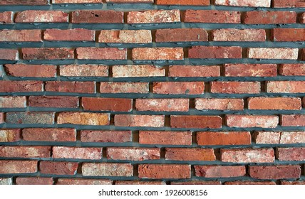 This is a red brick texture.