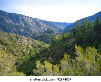 This is from the San Gabriel Mountains of California.