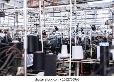 This is a sewing machine factory production