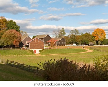 This is a shot of the historic Long Street Farm located in Holmdel NJ.