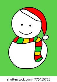 This is a Snow man