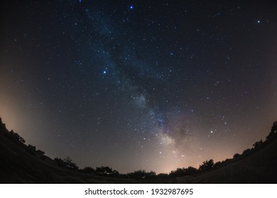 This is the starlit sky in Cappadocia, Turkey.  How about using this image for background of a calendar, a poster or any other promotional materials.
