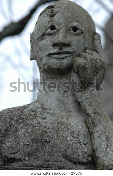 This is a statue created by an artist in Northern Ontario Canada.