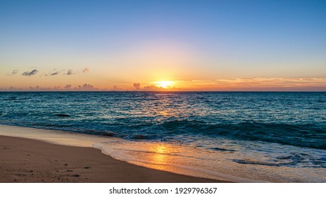 This is the summer sunset scenery in Yoron island in Kagoshima prefecture, Japan.  How about using this image for background of a calendar, a poster or any other promotional materials.