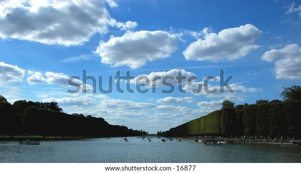 This was taken in the gardens of the Palace Of Versailles