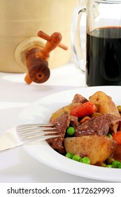 This traditional Irish stew can be cooked in a slow cooker before you leave for work or school.  Your effortless meal will be ready when you return for dinner