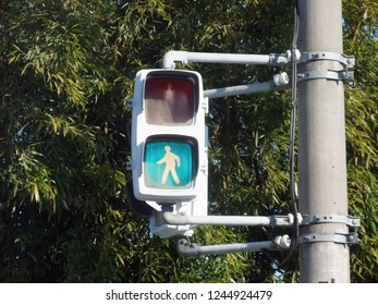 This is a traffic light for pedestrians.