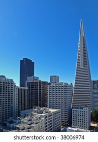 """This is the """"Transamerica Pyramid"""" in San Francisco."""