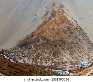 This is the view of Tilicho Base Camp.