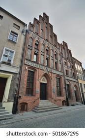 This is a view of Torun City street view. July 18, 2016. Torun, Poland. - Shutterstock ID 501867295