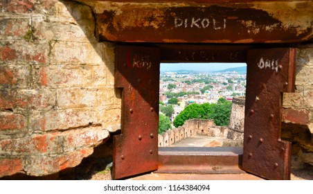 This window is used to see enemy in Jhansi Fort situated at Jhansi city Uttar Pradesh India