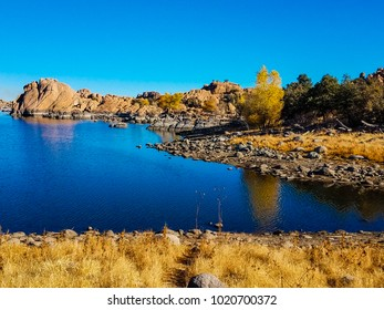 This is yet another inlet of the wetlands of Watson Lake in the Granite Dells of Prescott, Arizona,
