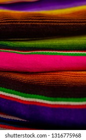 This zarape is colorful