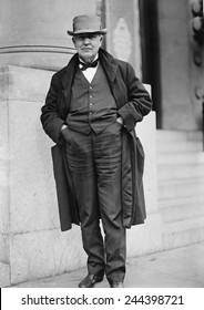 Thomas A. Edison (1847-1931), in Washington, D.C. in 1911.