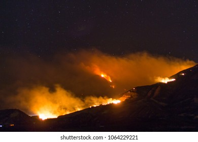 Thomas fire in southern California