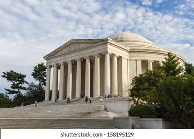 Thomas Jefferson Memorial Hall at Washington DC , USA