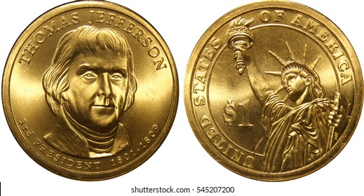 Thomas Jefferson President Dollar