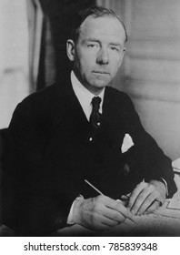 Thomas Lamont in 1925 when he was a partner of J.P. Morgan & Co. a powerful international bank. In 1926, he negotiated a $100 million loan for Benito Mussolini