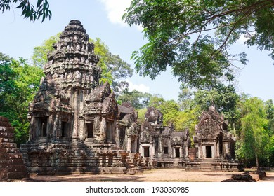 Thommanon temple, Angkor Thom capital, Angkor Archeological Park, Siem Reap, Cambodia.