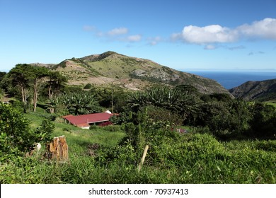 Thompson Wood country district St Helena Island