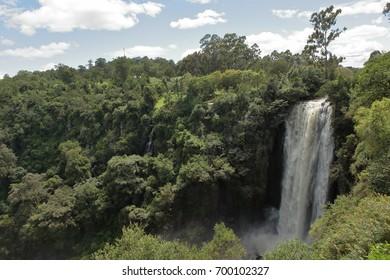 The Thomsen waterfalls in Kenya