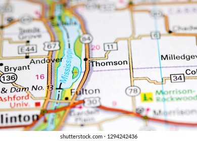 Thomson Illinois Map.Thomson Stock Photos Images Photography Shutterstock