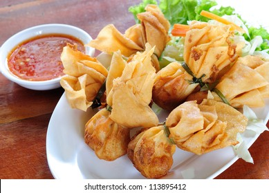 Thoong Thong food in thailand