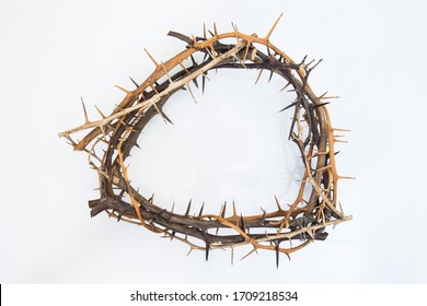 thorn crown christian religion symbol