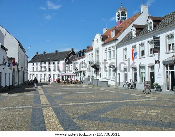 Thorn, Netherlands,market place in April 2012