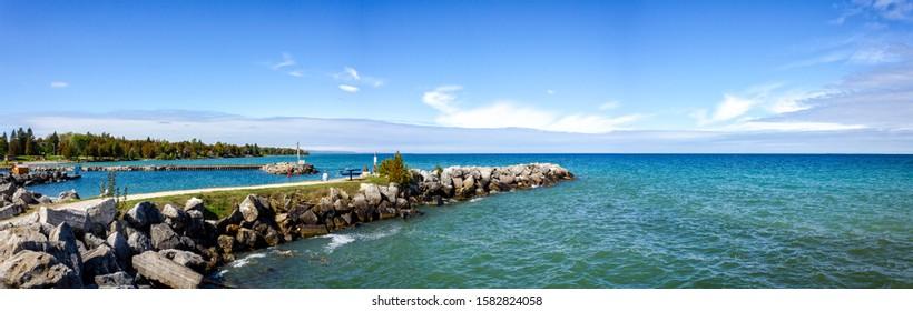 The Thornbury Harbour, Collingwood, Blue Mountains, Ontario, Canada