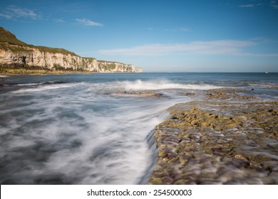 Thornwick Bay near Flamborough Head, East Yorkshire