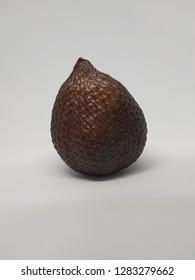 thorny palm (buah salak). fresh fruit