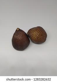 thorny palm (buah salak). tropical fruits