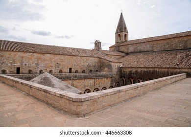 Thoronet Abbey from the Cistercian order in France