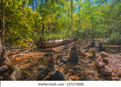 The thought provoking and mysterious rock totems of Sedona Arizona